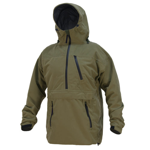 Men's outdoor climbing windproof multi-pocket hooded jacket