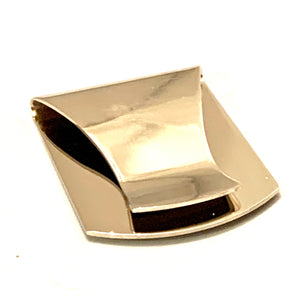 Silver Plated Equestrian Money Clip