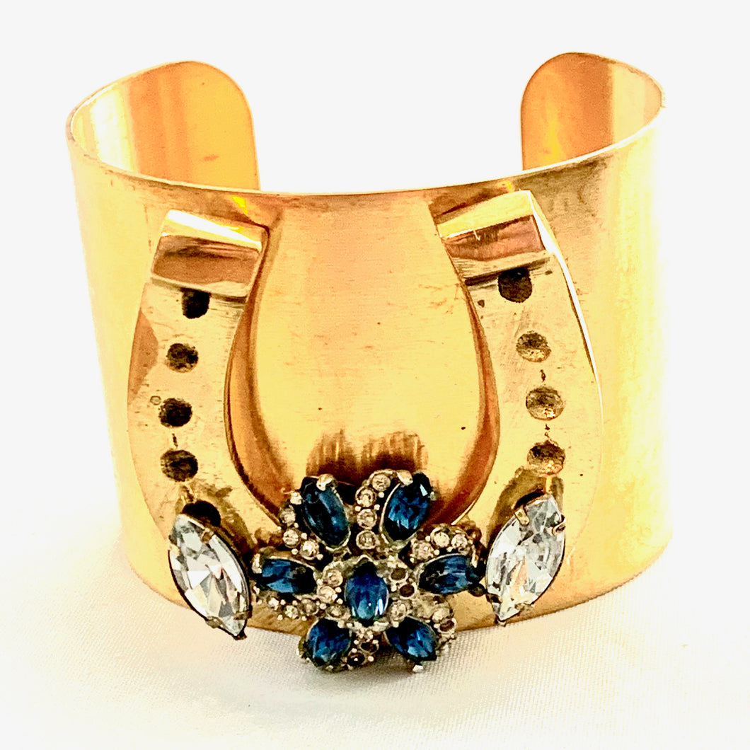 One of a Kind Brass Cuff