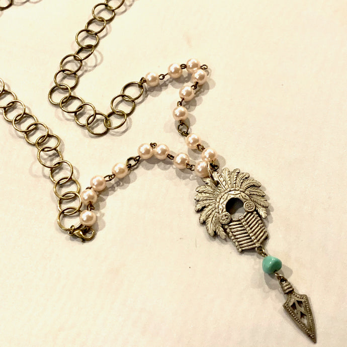 Headdress Necklace (1)