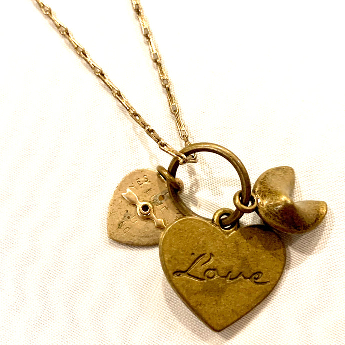 Which Way to Love Necklace