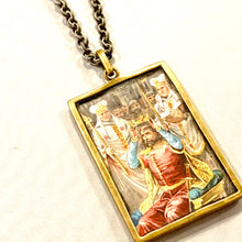 Cigarette Card Fram Necklace
