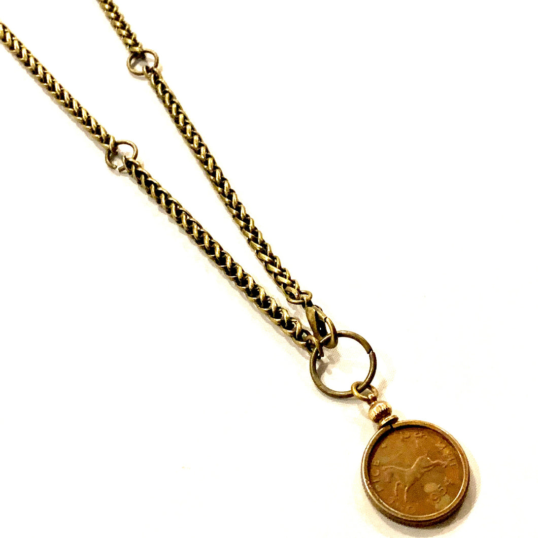 1954 Horse Coin Necklace