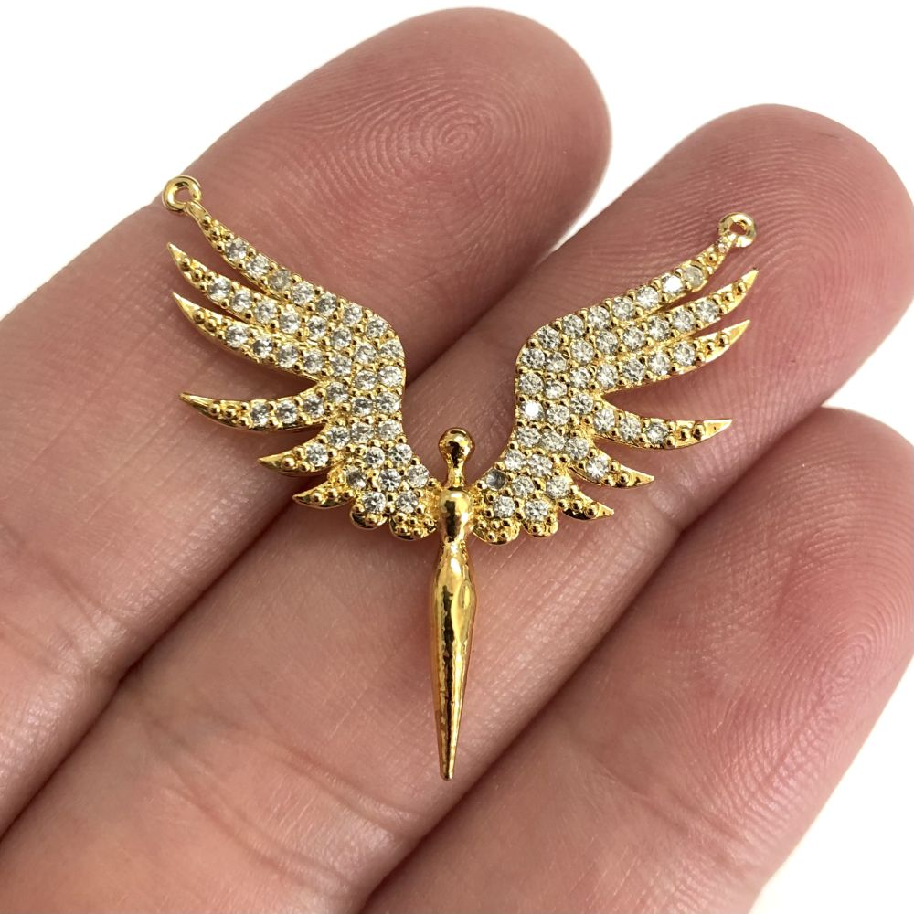 22 Kt Matte Gold Plated Charms