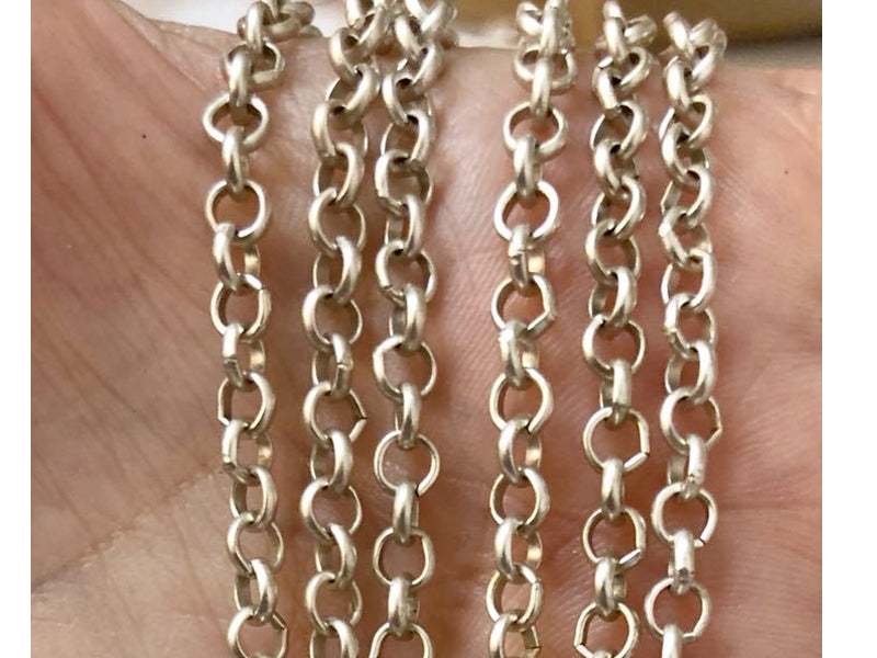 Silver Plated Chains