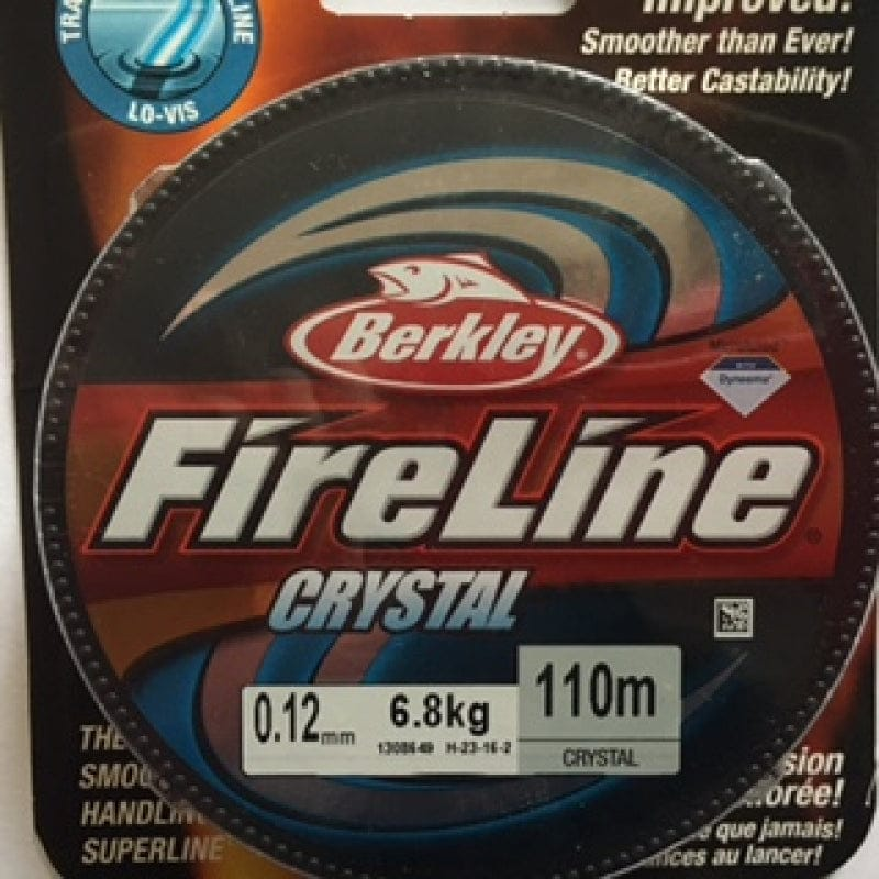 Fireline Thread, FLCR 6.8KG 0.12MM 110M (120 YD) CRYSTAL CLEAR