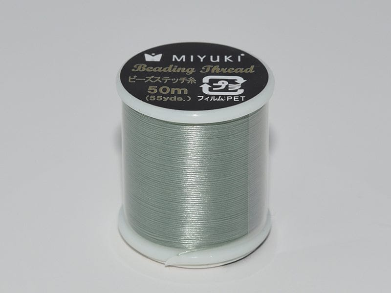Miyuki Thread  Color 23 - Caribbean ,Miyuki original nylon thread, delivered by 50 meters on a spool