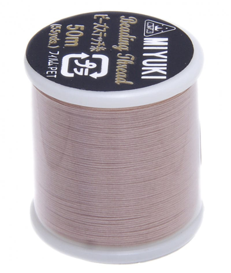 Miyuki Thread  Color 4 - Blush ,Miyuki original nylon thread, delivered by 50 meters on a spool