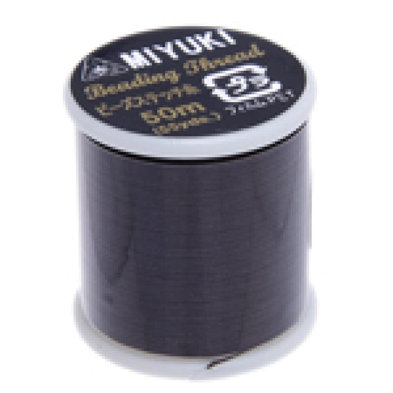 Miyuki Thread  Color 6-Brown ,Miyuki original nylon thread, delivered by 50 meters on a spool