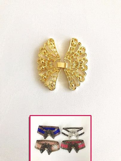 Metal Butterfly Closure-Gold Color