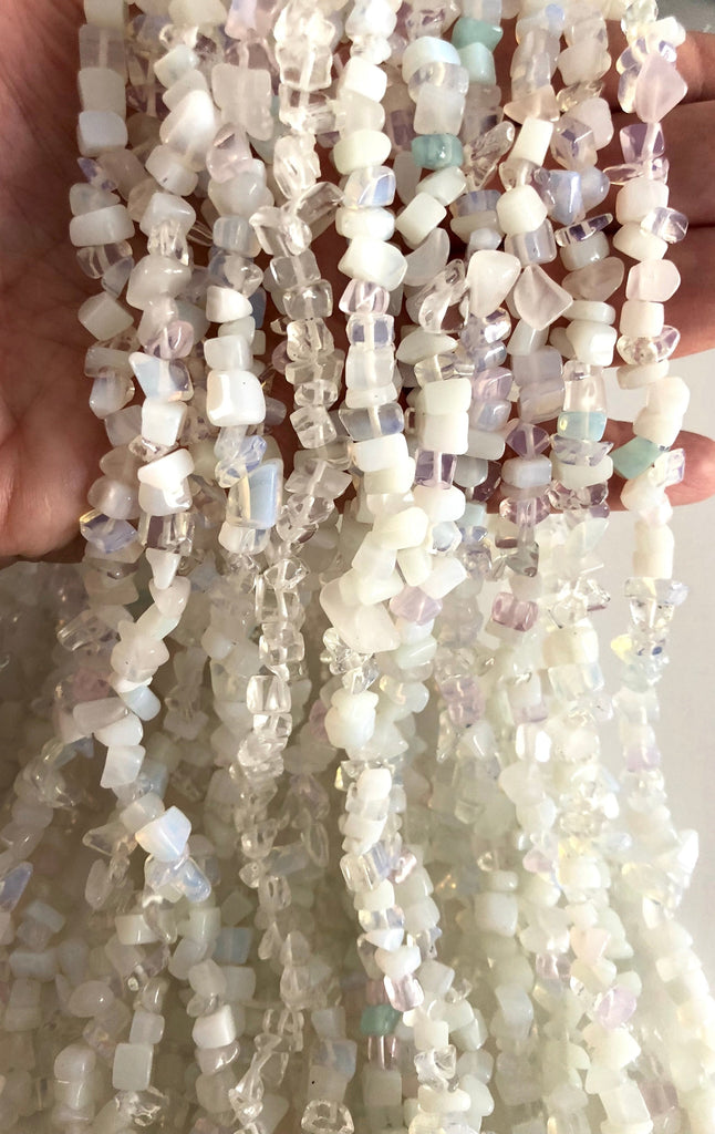 90 cm Strand Natural Freeform Moonstone Chips, Long strand 36'',Beads,Gemstone Beads,Natural Gemstone, gemstone sticks, gemstone chips