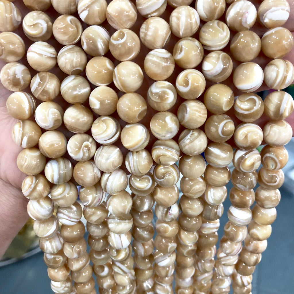10mm Mother of Pearl, MOP Natural Shell Beads, Sea Ocean, Summer Beads,,Beads,Gemstone Beads,Natural Gemstone