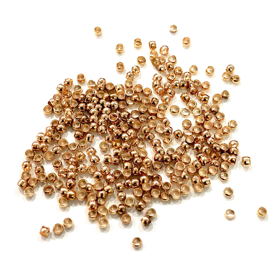 Crimp Beads, Gold Crimp Beads 5gr Pack