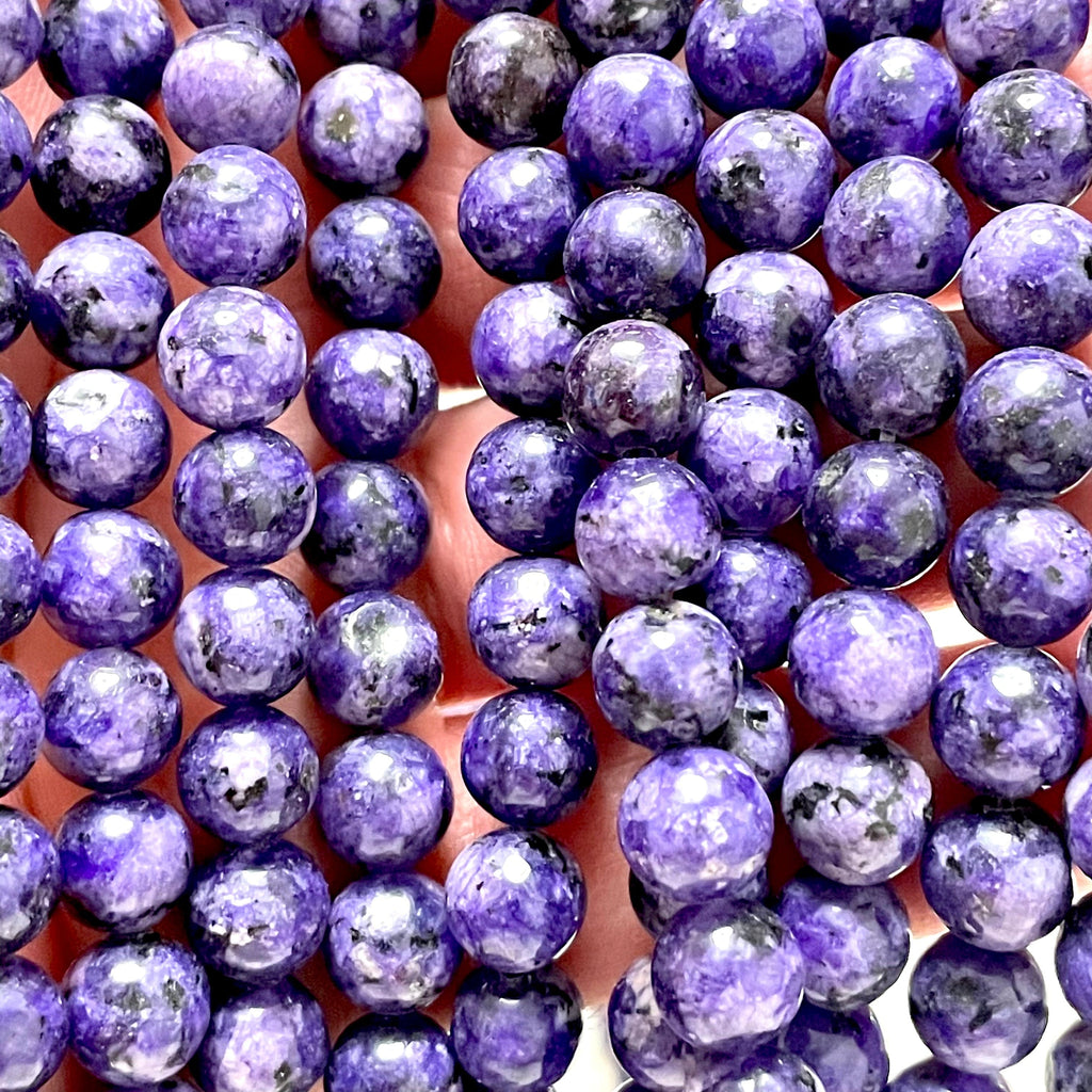 Purple Jade(dyed) Beads, 8mm Round Beads, 15.5 Inch, Full strand, Approx 48 beads, Hole 1mm, A quality