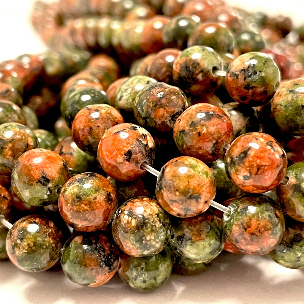 Ruby Zoisite  Jade(dyed) Beads, 8mm Round Beads, 15.5 Inch, Full strand, Approx 48 beads, Hole 1mm, A quality