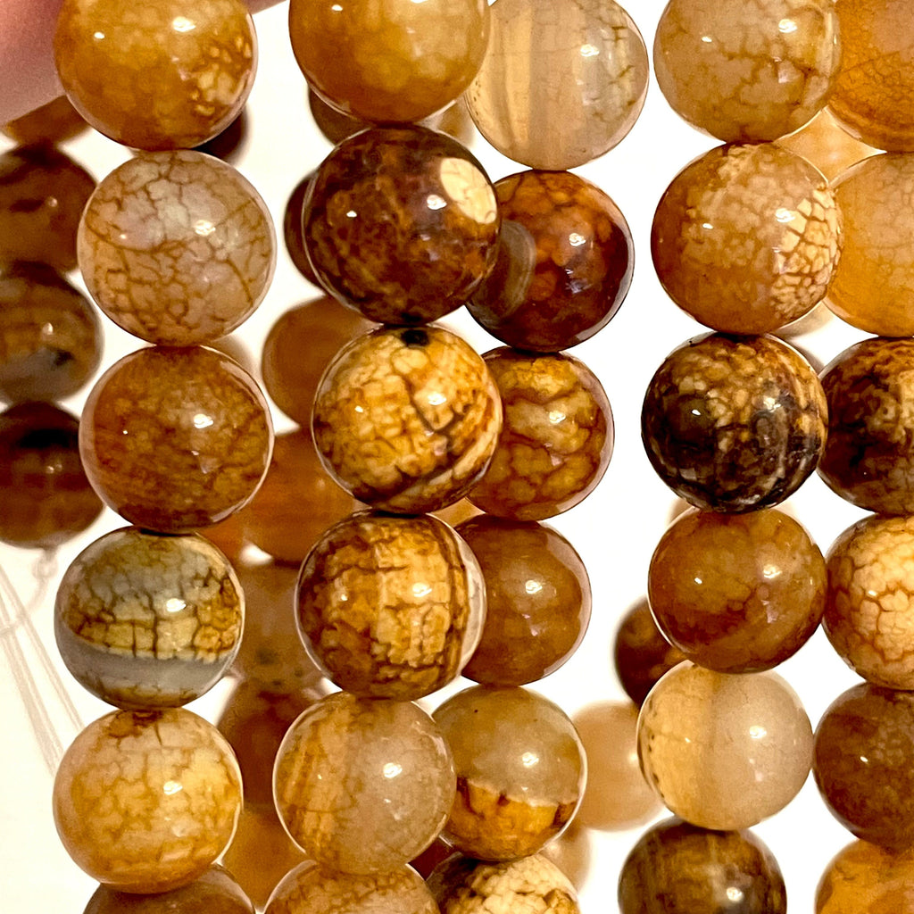 Genuine Agate 12 mm round beads , full strand 33 beads,Beads,Gemstone Beads,Natural Gemstone