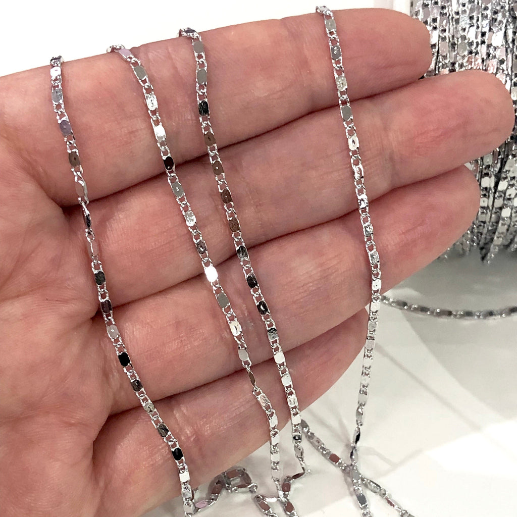Silver Plated Soldered Chain, Silver Plated Chain