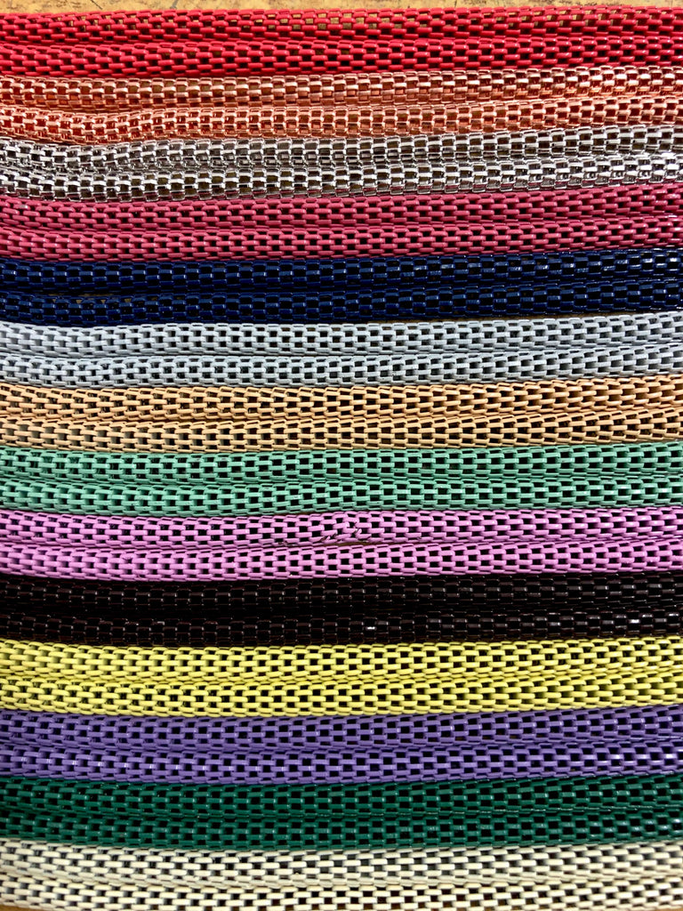 3mm Brass Mesh Tube Chain 120cm ,Colorful Brass Mesh Chains 120cm, 14 Colors Available