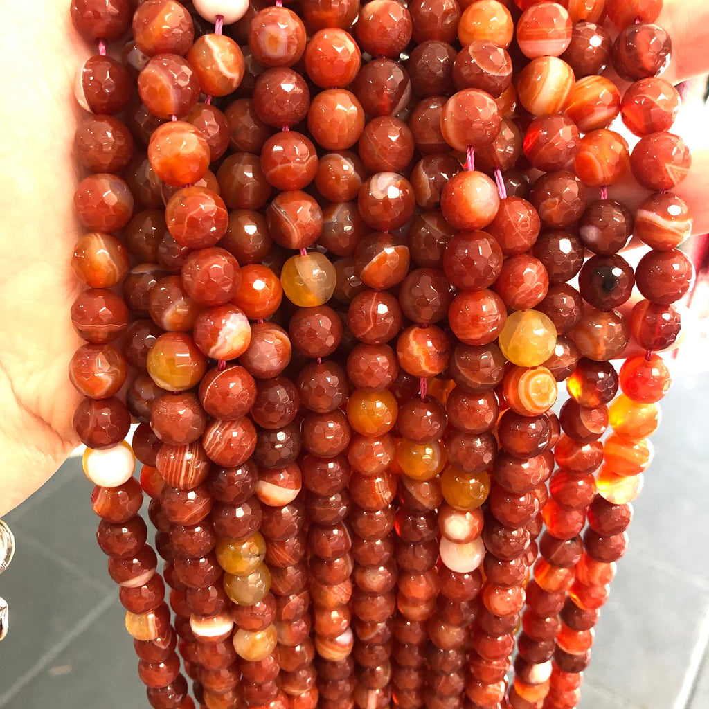 Brown Agate  10mm, 38beads per strand,Beads,Gemstone Beads,Natural Gemstone