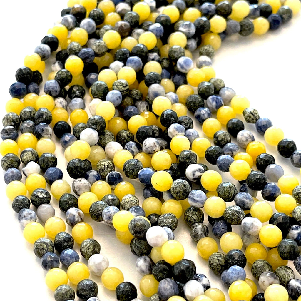 Crystal faceted rondelle - 150 pcs -4 mm - full strand - PBC4C26