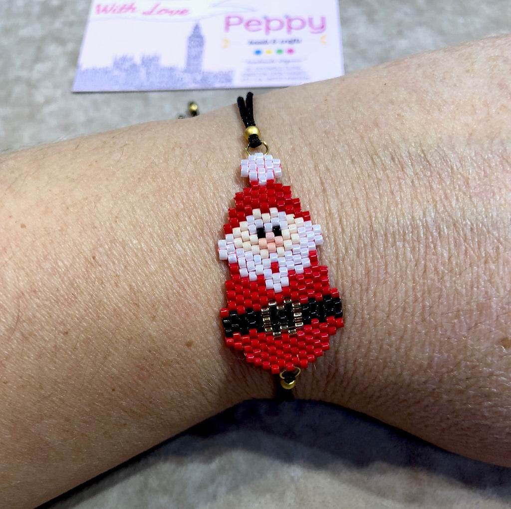 Father Christmas Bracelet, Santa Claus Bracelet