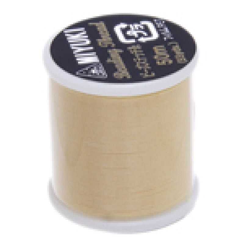 Miyuki Thread  Color 13 Yellow Miyuki original nylon thread, delivered by 50 meters on a spool
