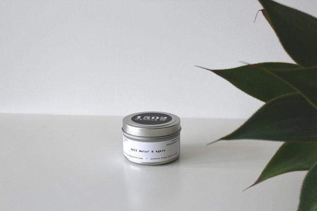 Salt Water & Agave Travel Tin Candle - 1502 Candle Co. - Teal Poppy Clothing Boutique