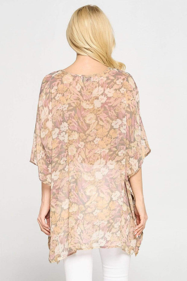 Adrienne Top Fiona Floral Top