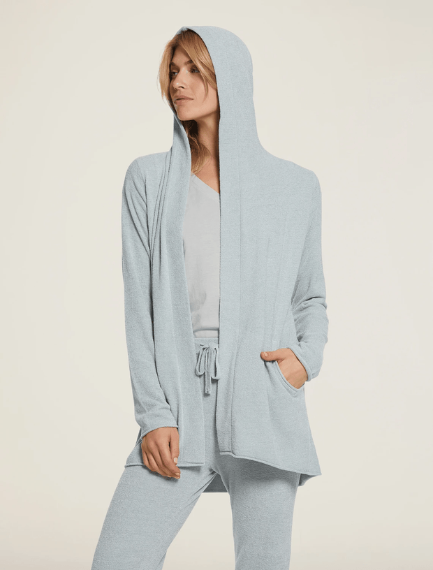 Barefoot Dreams Cardi Blue Water / X Small CozyChic Ultra Lite® Hooded Cardi