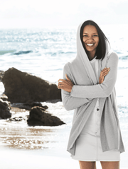 Barefoot Dreams Cardi CozyChic Ultra Lite® Hooded Cardi