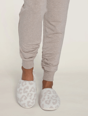 Barefoot Dreams Slippers Cream / Stone / S (5/6) CozyChic® Barefoot In The Wild Slipper