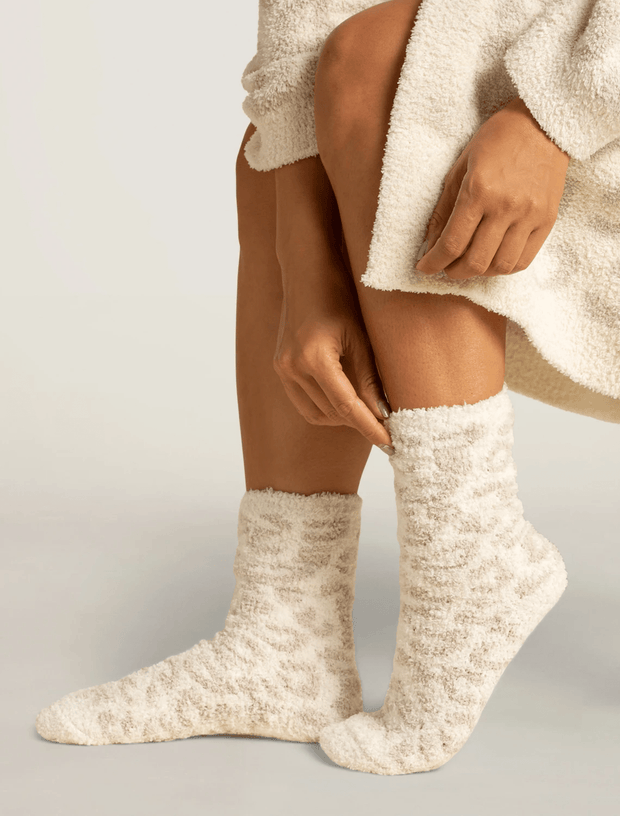 Barefoot Dreams Socks Cream / Stone / One Size CozyChic® Women's Barefoot In The Wild Socks