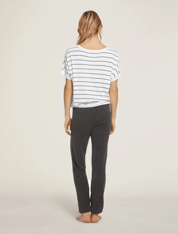 Barefoot Dreams Top CozyChic Ultra Lite® Striped Pullover