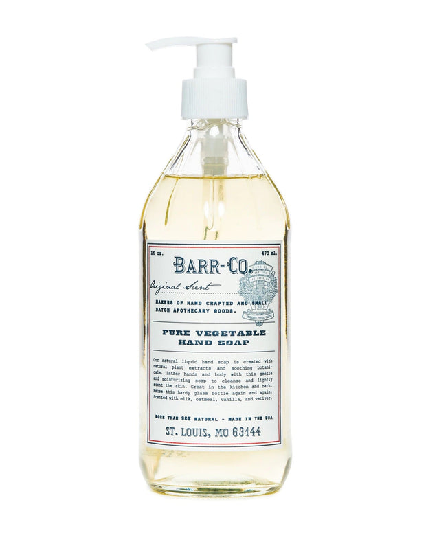Barr-Co. Beauty Care Original Scent Liquid Hand Soap
