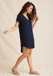Bella Dahl Dress Bella Dahl V-Neck Tee Dress