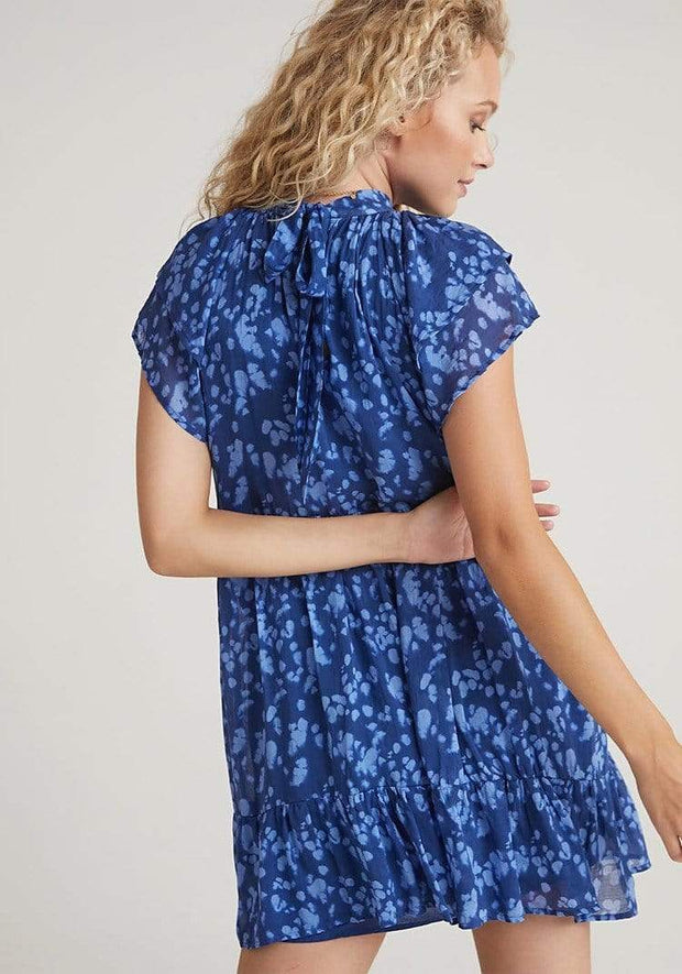 Bella Dahl Dress Double Flutter Sleeve Dress