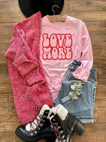 Retro Love More Tee - Blakeley - Teal Poppy Clothing Boutique