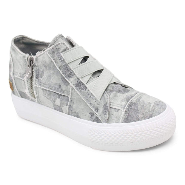 Blowfish Malibu Sneaker 6 Mamba Sneakers - Gray Splatter Camoflauge