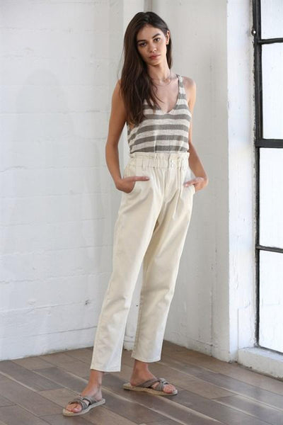 By Together pants Small / Ivory Mara Pant