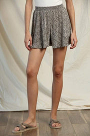 By Together Shorts Small / Taupe Black Elizabeth Shorts