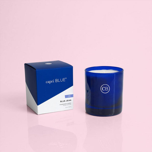 Signature Boxed Tumbler Candle - Capri Blue - Teal Poppy Clothing Boutique