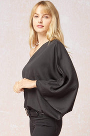Entro Top Hillary One Shoulder Top