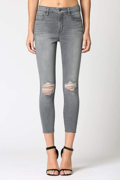 Taylor High Rise Skinny - Hidden Jeans - Teal Poppy Clothing Boutique