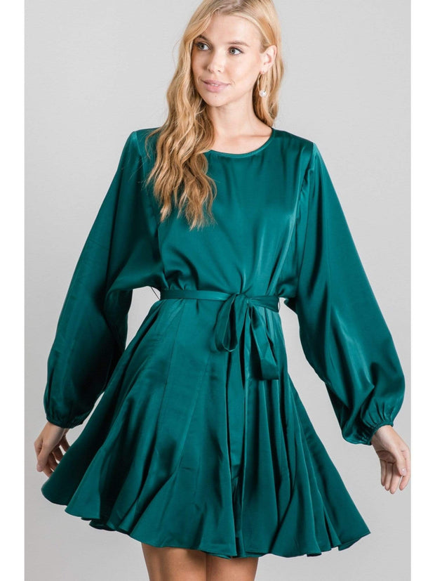 Rachael Flared Dress - Jodifl - Teal Poppy Clothing Boutique