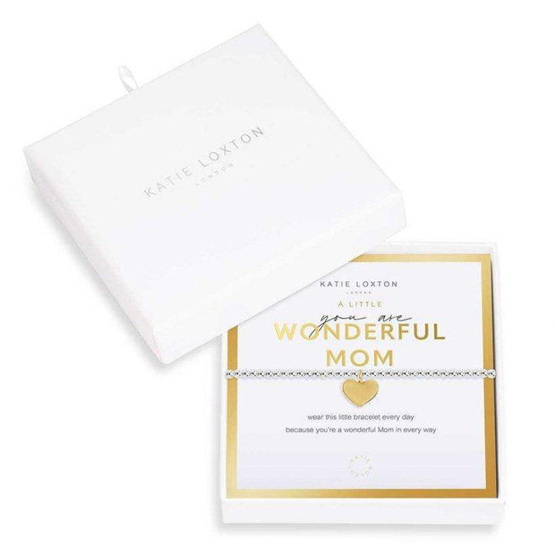 "Katie Loxton Bracelet You Are Wonderful Mom Beautifully Boxed ""A Little"" Bracelet"