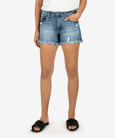 KUT from the Kloth Shorts Instruction Wash / 2 Jane High Rise Short