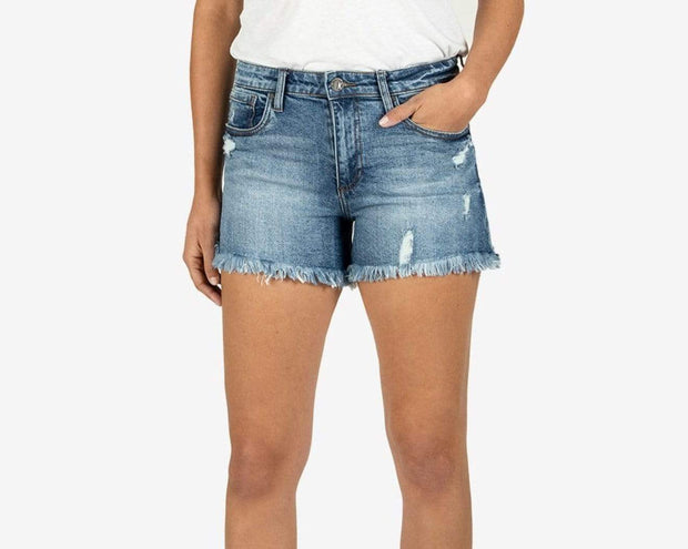 KUT from the Kloth Shorts Jane High Rise Short in Instruction