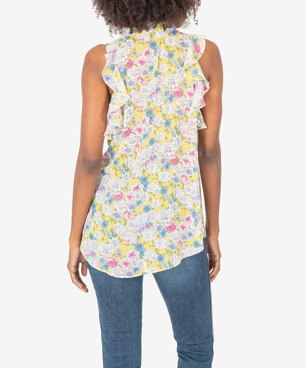 KUT from the Kloth Top Anastasia Sleeveless Blouse