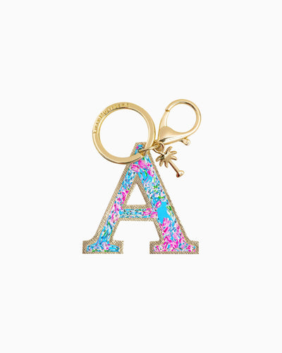 Lilly Pulitzer Accessory A Lilly Initial Keychain