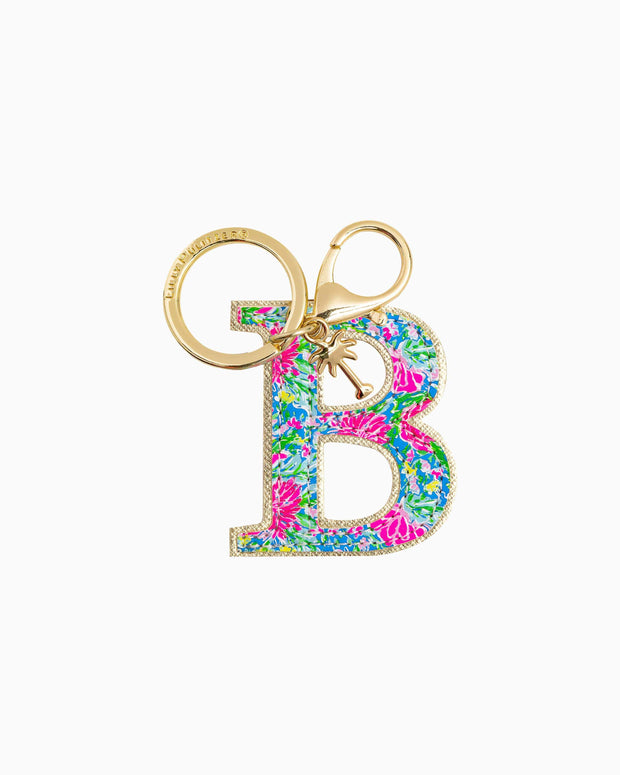 Lilly Pulitzer Accessory B Lilly Initial Keychain